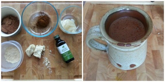 Chocolate Mint Chaga Elixir