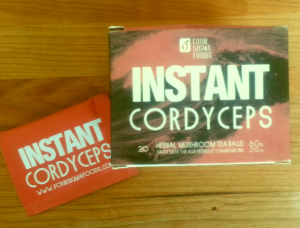 Four Sigma Cordyceps come in handy single serve packs.