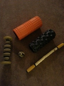 I've amassed a good collection of rollers. All you need is one roller and a ball to be set.