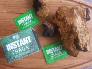 The chaga that Kayle and I harvested as well as the Chaga I take from Four Sigma Foods. There is a 10% discount code at the bottom if you want to try your own.