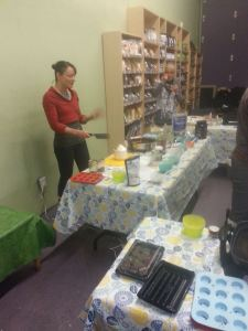 We took a chocolate making class at Pure Earth Organics in Red Deer. Rebekah is the owner and is super knowledgable.