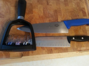These are the two knives I primarily use.