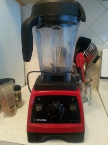 The Vitamix is my favorite kitchen supply.
