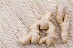 Ginger is fantastic for helping symptoms of nausea!