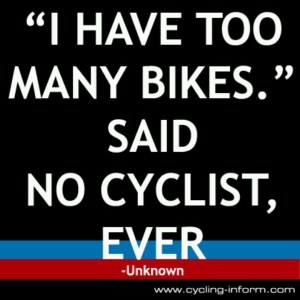 Triathlete's think the same thing.