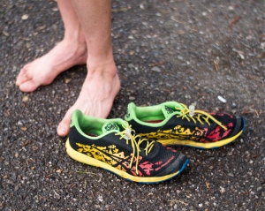 Love these shoes! The Asics Noosa Fasts are my go to shoes when it comes to all triathlons.