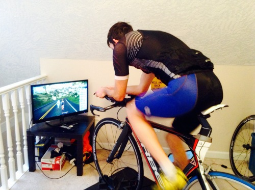 Zwift is awesome! It's been a great add on to all my trainer rides.