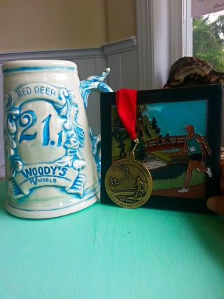Brian and Dawn do a fantastic job of making the medals, artwork and beer steins. Much better than any trophy!